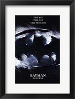 Framed Batman Returns Logo