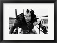 Framed Road Warrior Black and White