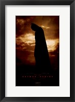 Framed Batman Begins June