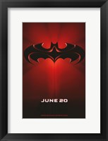 Framed Batman and Robin June 20