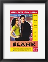 Framed Grosse Pointe Blank