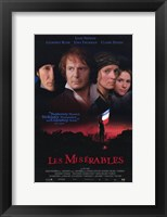 Framed Les Miserables Liam Neeson