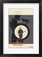 Framed Get Carter Bullseye