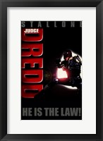 Framed Judge Dredd