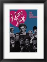 Framed I Love Lucy