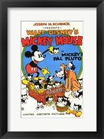 Framed Mickey's Pal Pluto
