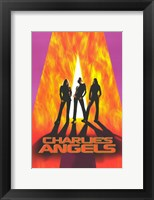 Framed Charlie's Angels