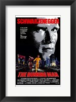 Framed Running Man Schwarzenegger