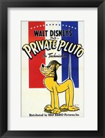 Framed Private Pluto