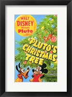 Framed Pluto's Christmas Tree