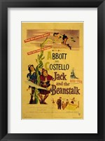Framed Abbott and Costello, Jack and the Beanstalk, c.1952