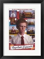 Framed Napoleon Dynamite Cast