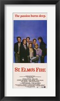 Framed St Elmo's Fire