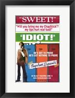 Framed Napoleon Dynamite Sweet Idiot