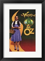 Framed Wizard of Oz Dorothy