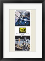 Framed 2001: a Space Odyssey Tall
