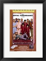 Framed Royal Tenenbaums - family photo