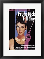Framed Breakfast At Tiffany's (german)