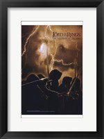 Framed Lord of the Rings: Fellowship of the Ring Lightning