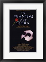 Framed Phantom of the Opera Broadway Musical