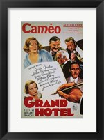 Framed Grand Hotel - cameo
