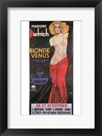 Framed Blonde Venus - posed
