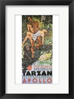 Framed Tarzan the Ape Man, c.1932 (German) - style A