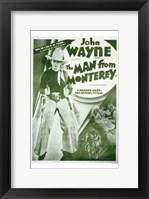 Framed Man from Monterey John Wayne