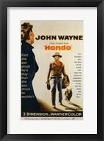 Framed Hondo John Wayne