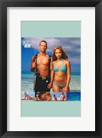 Framed Into the Blue Jessica Alba and Paul Walker