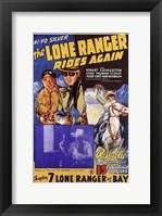 Framed Lone Ranger Rides Again