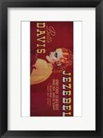 Framed Jezebel - red