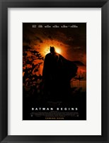Framed Batman Begins Coming Soon