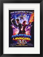Framed Adventures of Shark Boy Lava Girl in 3-
