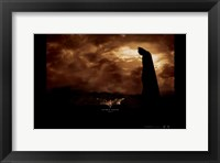 Batman Begins June Horizontal Framed Print