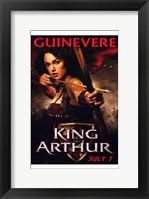 Framed King Arthur - Guinevere