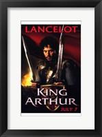 King Arthur - Lancelot Framed Print