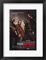 Framed Four Brothers