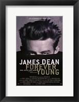 Framed James Dean: Forever Young