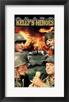 Framed Kelly's Heroes - Characters