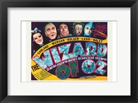 Framed Wizard of Oz Dark
