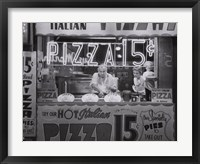 Framed Hot Italian Pizza