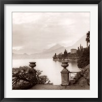 Villa Monastero, Lago di Como Framed Print