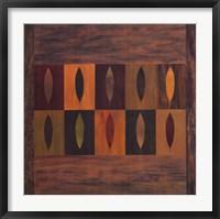 Framed Ten Leaves