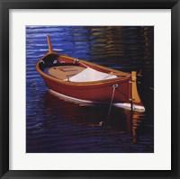 Piccolo Barca Rossa Framed Print