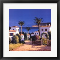 Framed Mediterranean Morning Shadows II
