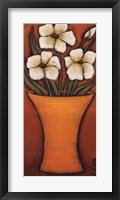 Framed Flores Brancas I