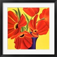 Framed Sunny Tulips