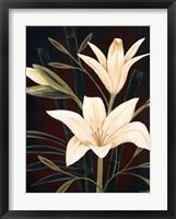 Framed Botanical Elegance I