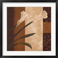 Framed Calla Pair